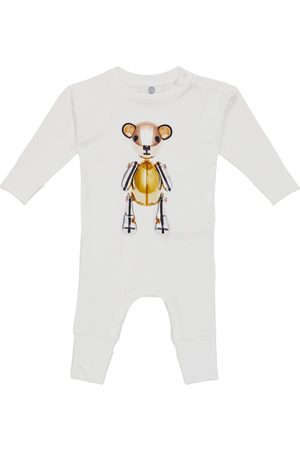 Burberry Rompers - Baby printed stretch-cotton onesie
