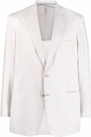 BRIONI Striped single breasted blazer