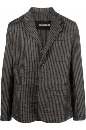 UMA WANG Men Blazers - Pinstripe print blazer