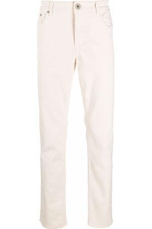 Brunello Cucinelli Men Straight - High-rise straight leg jeans