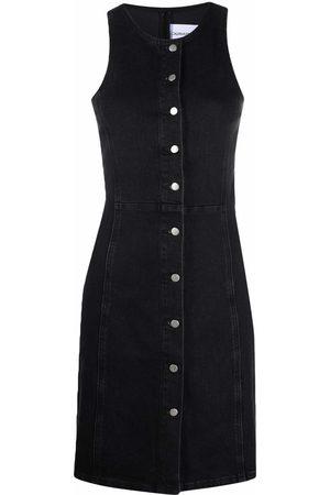 Calvin Klein Women Dresses - Button-up denim dress
