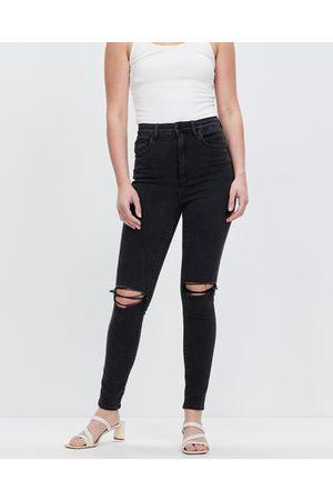 Lee High Licks Crop Jeans - Crop ( Rukus) High Licks Crop Jeans