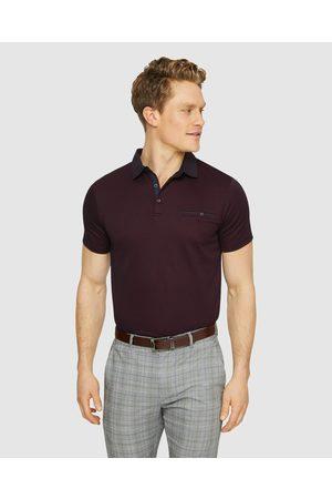 Tarocash Capri Modal Polo - T-Shirts & Singlets (BURGUNDY) Capri Modal Polo