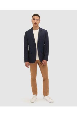 SABA George Wool Item Jacket - Suits & Blazers (Dark Navy) George Wool Item Jacket