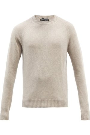 Tom Ford Men Sweaters - Crew-neck Cashmere-blend Sweater - Mens