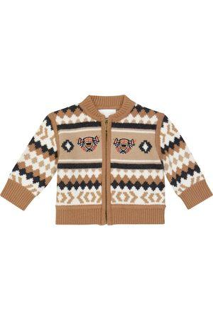 Burberry Cardigans - Baby wool-blend cardigan