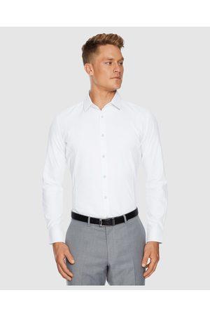 Tarocash Men Business - Webster Slim Easy Iron Shirt - Shirts & Polos Webster Slim Easy Iron Shirt