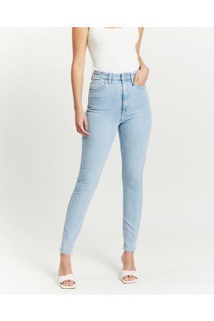Lee Women Jeans - High Licks Crop Jeans - Crop (Strike A Chord) High Licks Crop Jeans