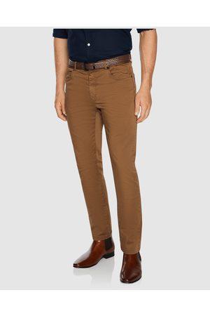 Tarocash Benny Stretch 5 Pkt Pant - Pants (MUSTARD) Benny Stretch 5 Pkt Pant