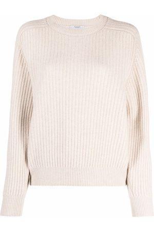 PESERICO SIGN Ribbed knit crewneck jumper