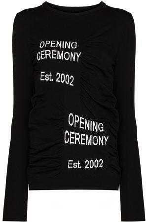 Opening Ceremony Box Logo crew-neck jumper