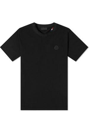 Moncler Men Short Sleeve - Rubber Patch Logo Tee