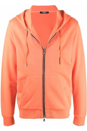 Balmain Logo-print drawstring hoodie