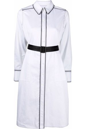 Karl Lagerfeld Women Casual Dresses - Contrast-detail shirt dress