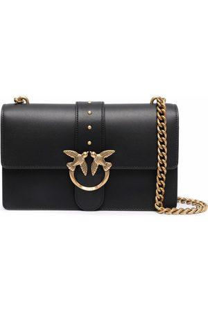 Pinko Leather Love Icon crossbody bag
