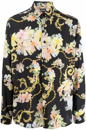 Roberto Cavalli Baroque flower print shirt