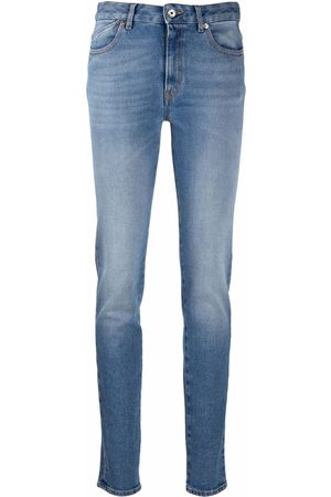 Roberto Cavalli High-waisted slim-cut jeans