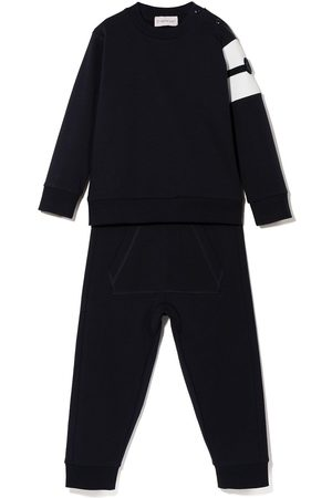 Moncler MONCLER BABY BOY RN L/S TOP AND TRACKSUI