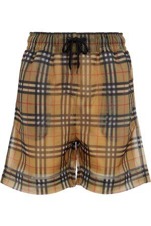 Burberry Vintage Check mesh shorts