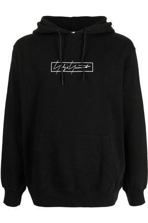 YOHJI YAMAMOTO Logo-print hoodie