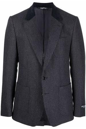 Dolce & Gabbana Contrast-lapel blazer