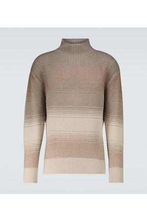 Loro Piana Fade cashmere-blend turtleneck