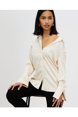 Runaway The Label Women Shirts - Dana Shirt - Tops (Champagne) Dana Shirt