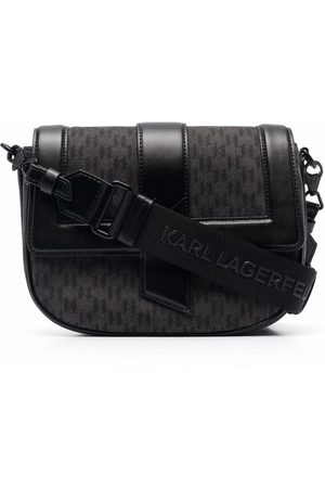 Karl Lagerfeld Women Shoulder Bags - K/Saddle monogram satchel bag