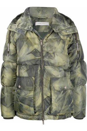 Golden Goose Men Coats - Camouflage-print padded coat