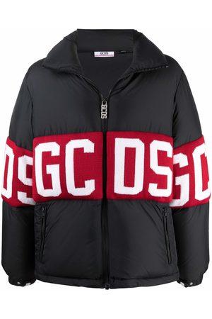 GCDS Men Winter Jackets - Logo-print puffer jacket