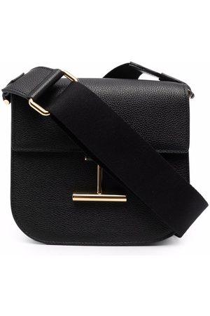 Tom Ford Women Shoulder Bags - Logo plaque crossbody bag