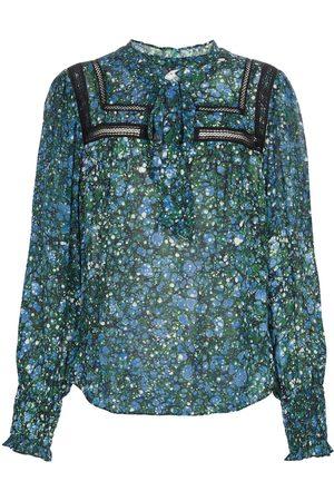 VERONICA BEARD Candita printed chiffon blouse