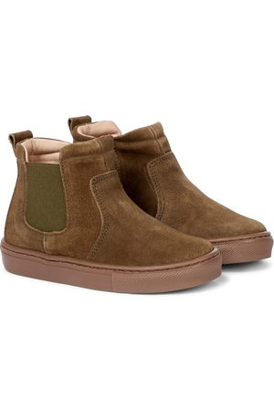 Petit Nord Suede Chelsea boots
