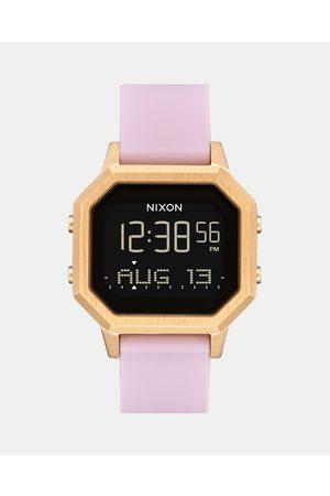 Nixon Siren SS - Watches (Light & Mauve) Siren SS