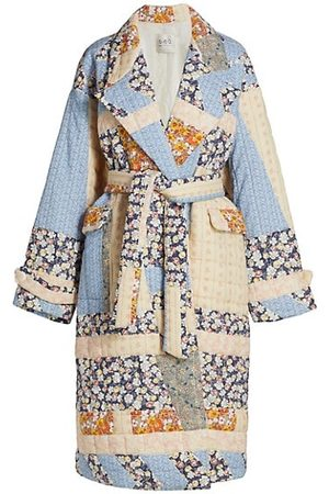 SEA Sydney Patchwork Quilted Coat