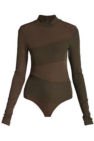 Goldsign Women Bodies - Pieced Mockneck Bodysuit