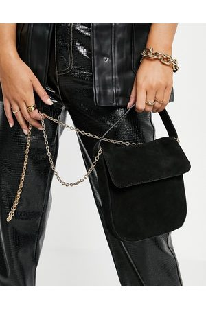 Urban Code Leather gold chain top handle cross-body bag in