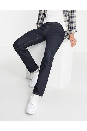 Levi's 551z authentic straight fit jeans in dark navy wash