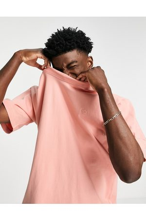 adidas Adicolor Contempo T-shirt in -Pink