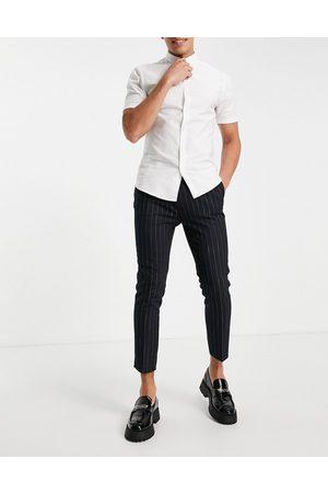 ASOS Tapered smart pants in stripe