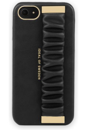 Ideal of sweden Statement Case iPhone 8 Ruffle Noir Top-Handle
