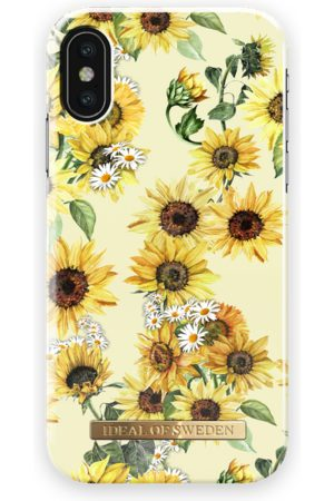 Ideal of sweden Women Phone Cases - Fashion Case iPhone X Sunflower Lemonade