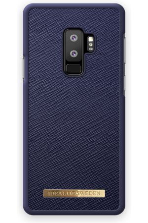 Ideal of sweden Saffiano Case Galaxy S9 Plus Navy
