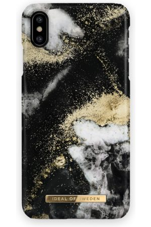 Ideal of sweden Fashion Case iPhone XS Max Black Galaxy Marble