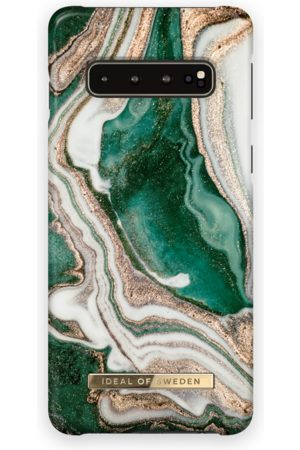 Ideal of sweden Fashion Case Galaxy S10 Golden Jade Marble