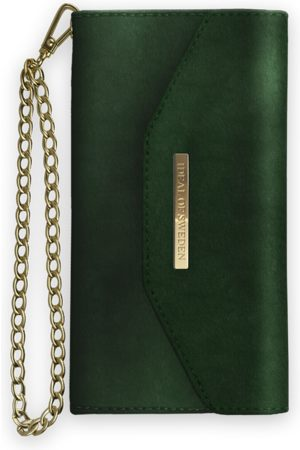 Ideal of sweden Mayfair Clutch Velvet iPhone 8 Plus Green