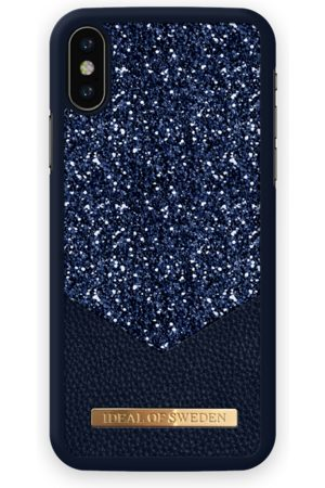 Ideal of sweden Fashion Case Glimmer iPhone X Sapphire