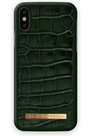Ideal of sweden Croco Case iPhone X Evergreen Croco