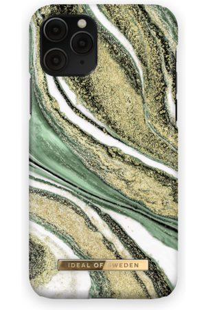 Ideal of sweden Women Phone Cases - Fashion Case iPhone 11 PRO Cosmic Green Swirl