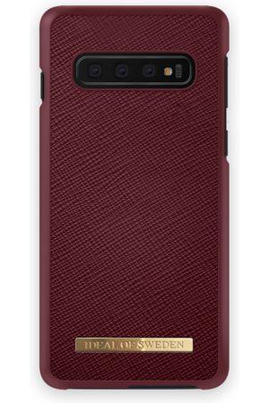 Ideal of sweden Saffiano Case Galaxy S10+ Burgundy